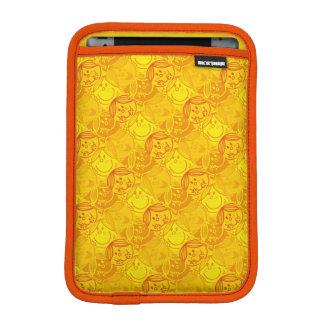 Little Miss Sunshine   Sunny Yellow Pattern iPad Mini Sleeve
