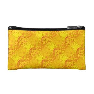 Little Miss Sunshine | Sunny Yellow Pattern Makeup Bag