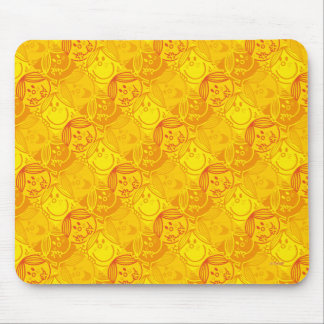 Little Miss Sunshine | Sunny Yellow Pattern Mouse Pad
