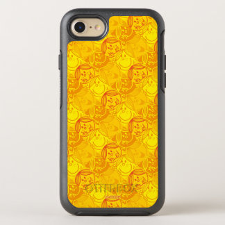 Little Miss Sunshine   Sunny Yellow Pattern OtterBox Symmetry iPhone 7 Case