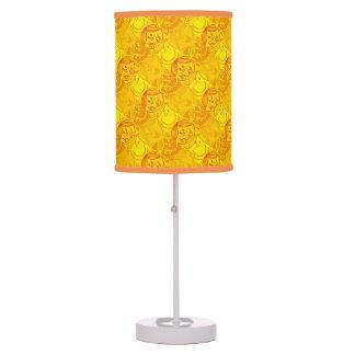 Little Miss Sunshine | Sunny Yellow Pattern Table Lamp