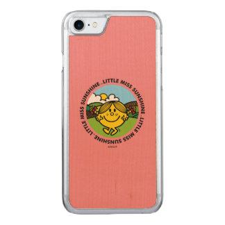 Little Miss Sunshine   Sunshine Circle Carved iPhone 7 Case