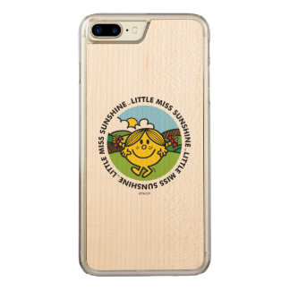 Little Miss Sunshine | Sunshine Circle Carved iPhone 7 Plus Case