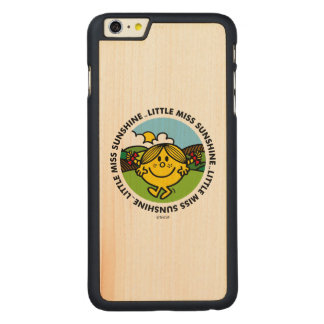 Little Miss Sunshine | Sunshine Circle Carved Maple iPhone 6 Plus Case