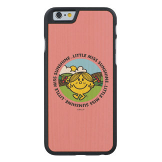 Little Miss Sunshine | Sunshine Circle Carved® Maple iPhone 6 Slim Case