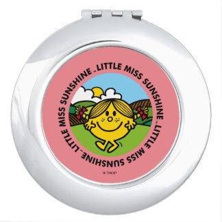 Little Miss Sunshine | Sunshine Circle Compact Mirror
