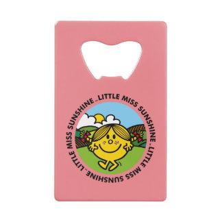 Little Miss Sunshine | Sunshine Circle Credit Card Bottle Opener