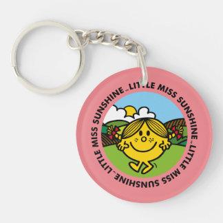 Little Miss Sunshine   Sunshine Circle Keychain