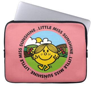 Little Miss Sunshine   Sunshine Circle Laptop Sleeve