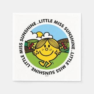 Little Miss Sunshine   Sunshine Circle Napkin