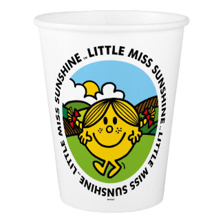 Little Miss Sunshine | Sunshine Circle Paper Cup