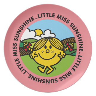 Little Miss Sunshine | Sunshine Circle Plate