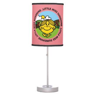 Little Miss Sunshine | Sunshine Circle Table Lamp