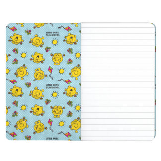 Little Miss Sunshine | Teal Polka Dot Pattern Journal