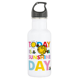 Little Miss Sunshine | Today is a Sunshine Day 532 Ml Water Bottle
