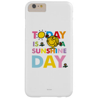 Little Miss Sunshine | Today is a Sunshine Day Barely There iPhone 6 Plus Case