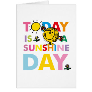 Little Miss Sunshine | Today is a Sunshine Day Card