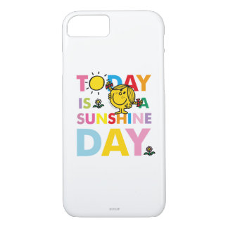 Little Miss Sunshine | Today is a Sunshine Day iPhone 7 Case