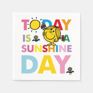 Little Miss Sunshine   Today is a Sunshine Day Napkin