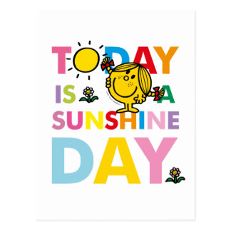 Little Miss Sunshine | Today is a Sunshine Day Postcard