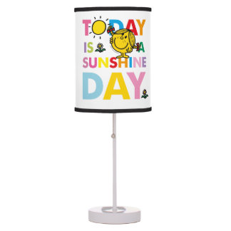 Little Miss Sunshine | Today is a Sunshine Day Table Lamp
