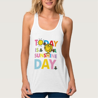 Little Miss Sunshine | Today is a Sunshine Day Tank Top