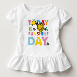 Little Miss Sunshine | Today is a Sunshine Day Toddler T-shirt