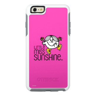 Little Miss Sunshine Walking On Name Graphic OtterBox iPhone 6/6s Plus Case
