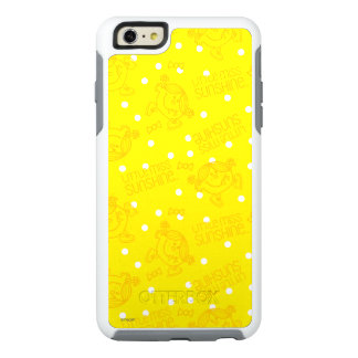 Little Miss Sunshine Yellow And Polka Dot Pattern OtterBox iPhone 6/6s Plus Case