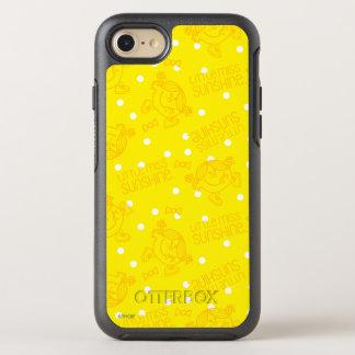 Little Miss Sunshine Yellow And Polka Dot Pattern OtterBox Symmetry iPhone 7 Case
