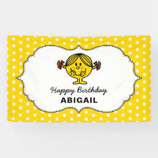 Little Miss Sunshine | Yellow Birthday Banner