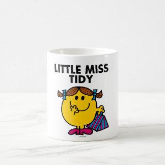Little Miss Tidy   Black Lettering Classic White Coffee Mug