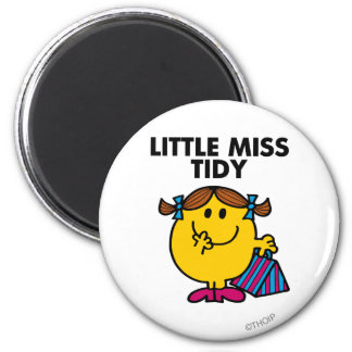 Little Miss Tidy | Black Lettering Magnet