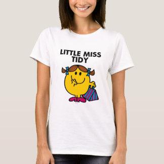 Little Miss Tidy | Black Lettering T-Shirt