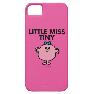 Little Miss Tiny | Black Lettering iPhone 5 Case