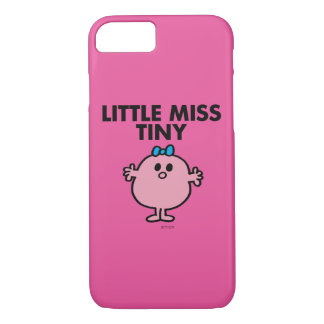 Little Miss Tiny | Black Lettering iPhone 7 Case