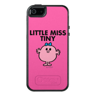 Little Miss Tiny | Black Lettering OtterBox iPhone 5/5s/SE Case
