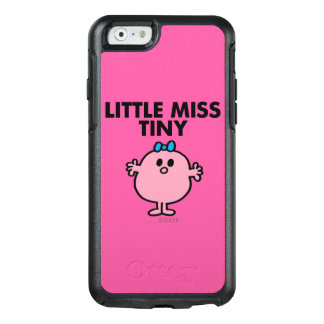 Little Miss Tiny | Black Lettering OtterBox iPhone 6/6s Case