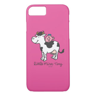 Little Miss Tiny | Cow Riding iPhone 7 Case