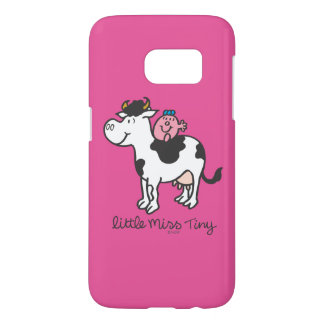 Little Miss Tiny | Cow Riding Samsung Galaxy S7 Case