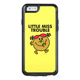 Little Miss Trouble | Black Lettering OtterBox iPhone 6/6s Case