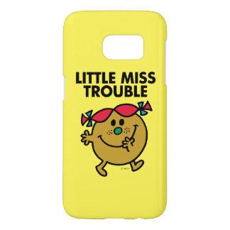 Little Miss Trouble | Black Lettering Samsung Galaxy S7 Case