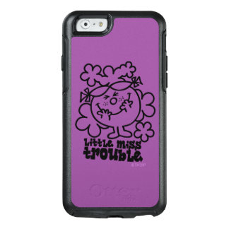 Little Miss Trouble | Black & White OtterBox iPhone 6/6s Case