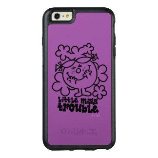 Little Miss Trouble | Black & White OtterBox iPhone 6/6s Plus Case