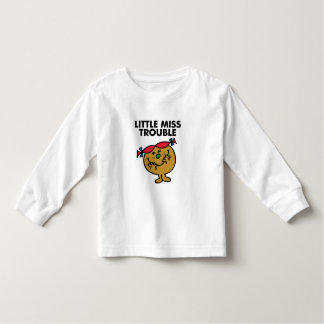 Little Miss Trouble | Laughing Toddler T-shirt