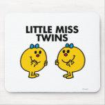 Little Miss Twins Classic Mouse Pad