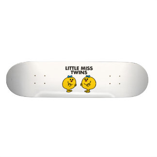 Little Miss Twins | Two Much Fun Skate Board Deck