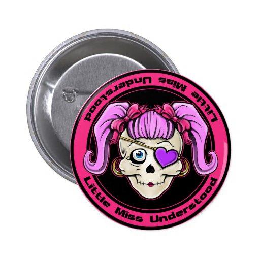 Little Miss Understood Design Pins