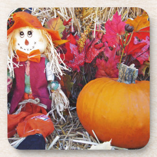 Little Mister Scarecrow Beverage Coasters