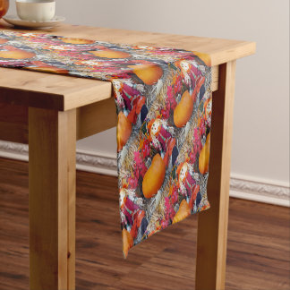 Little Mister Scarecrow Short Table Runner